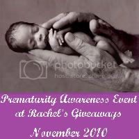 Prematurity Awareness Event at Rachel's Giveaways